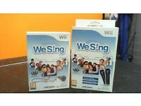 Wii Sing Game and Two Mic set