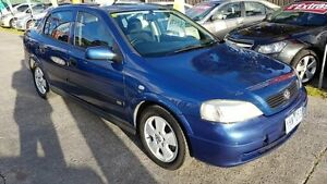 2002 Holden Astra TS CD Blue 4 Speed Automatic Sedan Maidstone Maribyrnong Area Preview