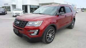 2017 Ford Explorer Sport, 3.5L Ecoboost 365Hp, LOADED