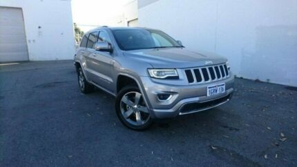 2013 Jeep Grand Cherokee WK MY2014 Overland Silver 8 Speed Sports Automatic Wagon Midvale Mundaring Area Preview