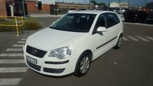2007 Volkswagen Polo 9N MY07 Upgrade TDI White 5 Speed Manual Hatchback Georgetown Newcastle Area Preview