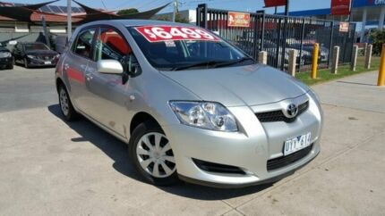 2007 Toyota Corolla ZRE152R Ascent 6 Speed Manual Hatchback Cairnlea Brimbank Area Preview