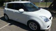 2005 Suzuki Swift EZ White 4 Speed Automatic Hatchback Granville Parramatta Area Preview