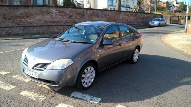 2005 05 nissan primera 2 0 sx 5 door grey in oxton merseyside gumtree. Black Bedroom Furniture Sets. Home Design Ideas
