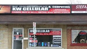 KW CELLULAR,CELL PHONE.IPOD,TABLET REPAIR AND UNLOCKING Kitchener / Waterloo Kitchener Area image 1