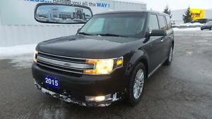 2015 Ford Flex SEL, Lthr, Moon, Navi