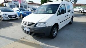 2009 Volkswagen Caddy 2KN SWB White 5 Speed Manual Van St James Victoria Park Area Preview
