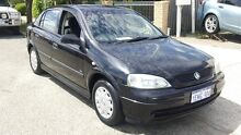 2002 Holden Astra TS City Black 5 Speed Manual Hatchback Victoria Park Victoria Park Area Preview