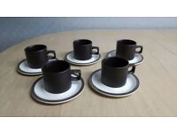 coverstone heather staffordshire cups and saucers