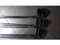 Titleist Dtr irons 3-sw lovely set, new grips RH reg steel shafts