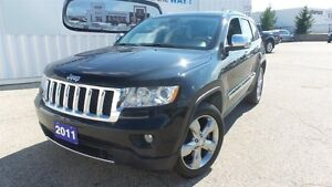 2011 Jeep Grand Cherokee Overland, HEMI, Fully Loaded! Kitchener / Waterloo Kitchener Area image 1