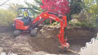 ***Mini Excavation with Operator***