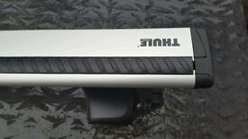Roof Bars 2014 Qashqai onThule 754 footpack 962 Wing`Bars and 1758 fiiting kit
