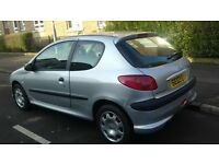 PEUGEOT 206 FULL YEAR MOT 1.2 3DR EXCELLENT CONDITION!!!