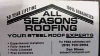 ALL SEASONS ROOFING-The Steel Roofing Specialists