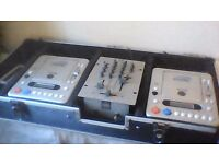 Cd decks and mixer for sale in Omagh (£150)