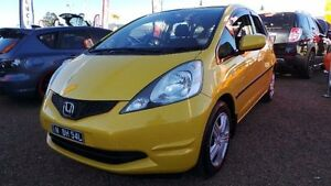 2008 Honda Jazz GD GLi Yellow Constant Variable Hatchback