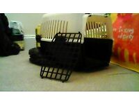 Small pet cat carrier used once in as new condition