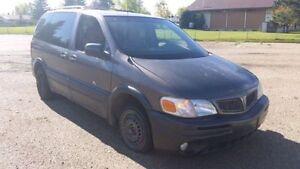 2003 Pontiac Montana Minivan, Tow Away or For Parts