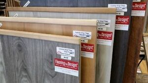 Vinyl Plank and Tile sale at Flooring by Design