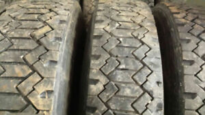 11R 22.5 TRUCK TIRES 30 PERCENT GOOD $ 100 PER TIRE