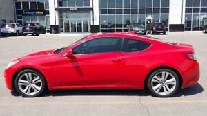 Hyundai Genesis Coupe Red Great condition 93K for Trade Swap