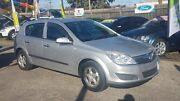 2007 Holden Astra AH MY07 CD Silver 4 Speed Automatic Hatchback Maidstone Maribyrnong Area Preview