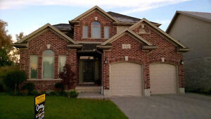 House with finished walkout basement Available Right Now