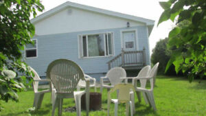 2 lovely cottages available for weekly rentals Now-Sept. 9