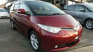 2008 Toyota Estima GSR50 MYO08 G EDITION G EDTITION Red 6 Speed Automatic Greenacre Bankstown Area Preview