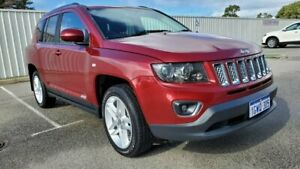 2014 Jeep Compass MK MY14 Limited Red 6 Speed Sports Automatic Wagon Rockingham Rockingham Area Preview