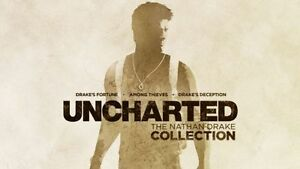 Uncharted the nathan collection English (PS4 Game)