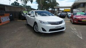 2012 Toyota Camry ASV50R Altise White 6 Speed Sports Automatic Sedan Liverpool Liverpool Area Preview