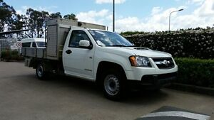 2011 Holden Colorado RC MY11 LX Alpine White 5 Speed Manual Cab Chassis Acacia Ridge Brisbane South West Preview