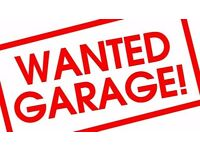 WANTED garage in the area St.David's Hill