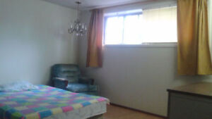 Furnished room available, $25/day/person