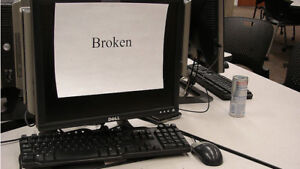 Looking for broken or no longer used computers