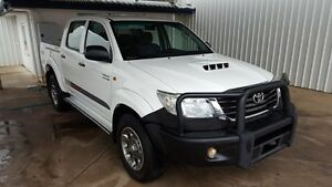 2013 Toyota Hilux KUN26R MY12 SR Double Cab 5 Speed Automatic Dual Cab Miles End Mt Isa City Preview