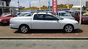 2003 Holden Crewman VY II White 4 Speed Automatic Utility Victoria Park Victoria Park Area Preview