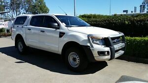 2014 Ford Ranger PX XL Double Cab White 6 Speed Manual Utility Acacia Ridge Brisbane South West Preview
