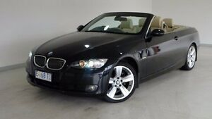 2007 BMW 325I E92 MY08 Steptronic Black 6 Speed Sports Automatic Coupe Hobart CBD Hobart City Preview