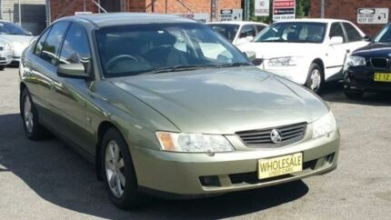2004 Holden Commodore VY II Equipe Olive Green 4 Speed Automatic Sedan