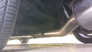 """240sx S13 Exhaust 3"""" Stainless Cat-Back w/ 4"""" tip London Ontario image 6"""