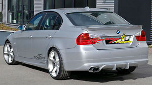 2005 - 2011 BMW E90 ACS Rear Lip Polyurethane (Base model)