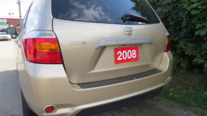 2008 TOYOTA HIGHLANDER  4WD--BROWSING ENABLED ANDROID GPS, BT