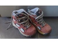 Girls Size 9 Hi-Tec Walking Boots