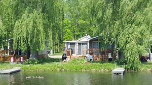 Waterfront cottage in the Kawarthas