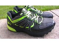 KARRIMOR TEMPO 3 TRAIL RUNNING TRAINERS/SPORT SHOES SIZE UK 10/EURO 44