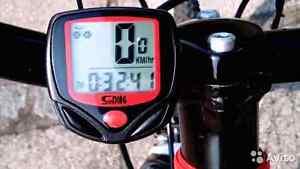 Waterproof Bicycle Meter Odometer Speedometer With LCD Display