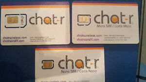 Sim cards available ONLY $8.00